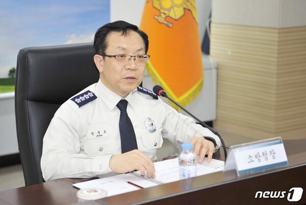 정문호 소방청장./  2019.3.13/뉴스1