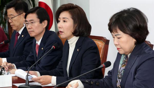 나경원 자유한국당 원내대표/뉴스1