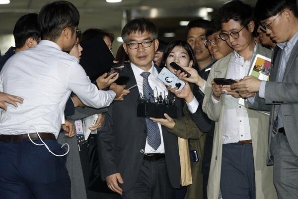 정경심 교수 변호인단 김칠준 변호사/뉴스1