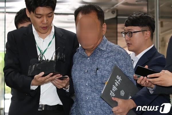 가로등 자동점멸기 업체 웰스씨앤티 최모 대표/뉴스1