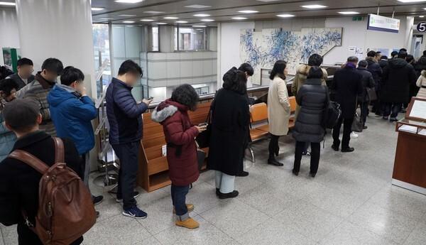 정경심 교수 재판 방청객/뉴스1